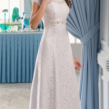 Платье из кружева 3D