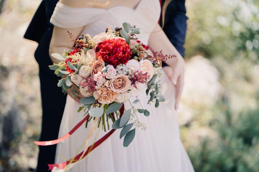Букет невесты авторский