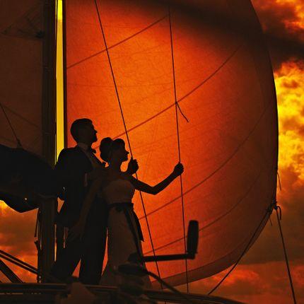 Аренда яхты для фотосессии + арочная аллея
