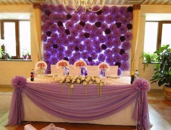 Фото 4833075 в коллекции Оформление помпонами - Декорация - организация и оформление свадеб