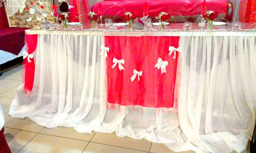 Фото 6477682 в коллекции Красно-белая свадьба - Декорация - организация и оформление свадеб