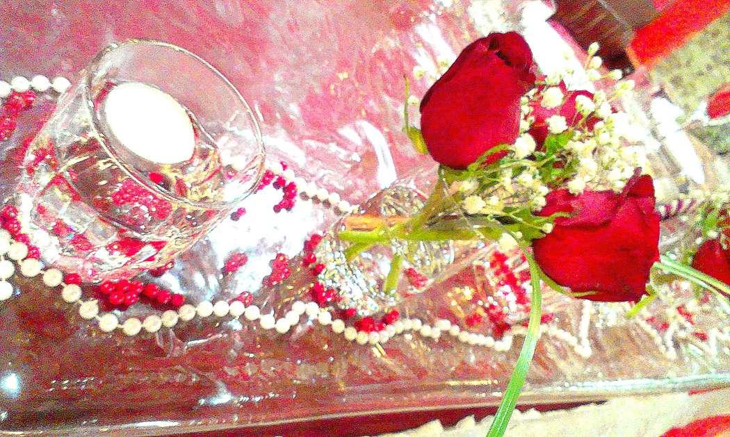 Фото 6477686 в коллекции Красно-белая свадьба - Декорация - организация и оформление свадеб