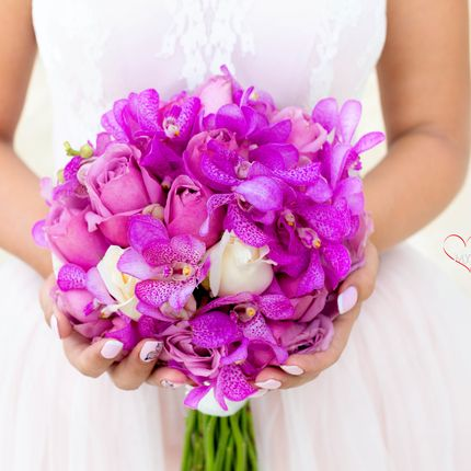 Свадебный букет Тайланд Самуи