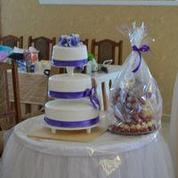 Тортик очень вкусно пах...Хотелось его попробовать!