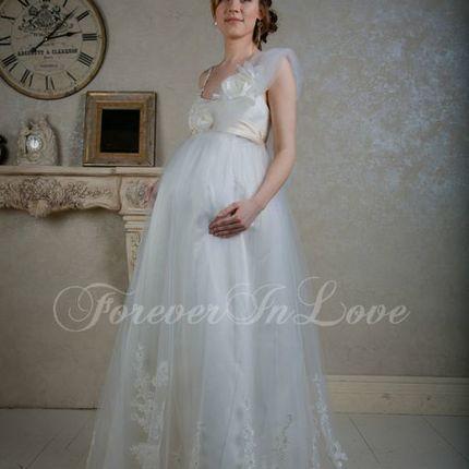 Свадебное платье для будущих мам