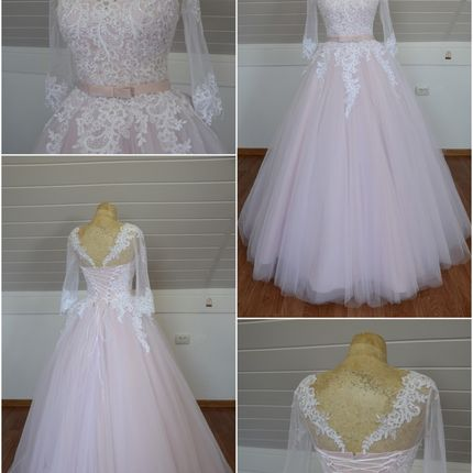 Платье с рукавами Маргарет