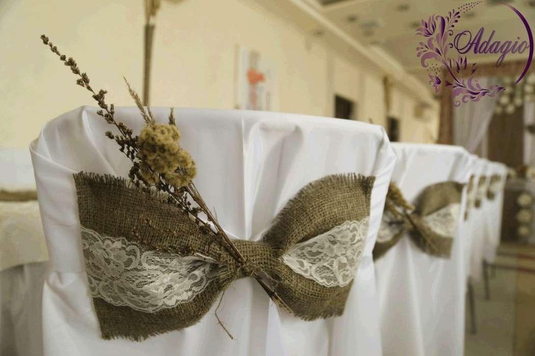 """Фото 4916543 в коллекции Свадьба в стиле rustic - """"Adagio"""" - свадебный декор"""