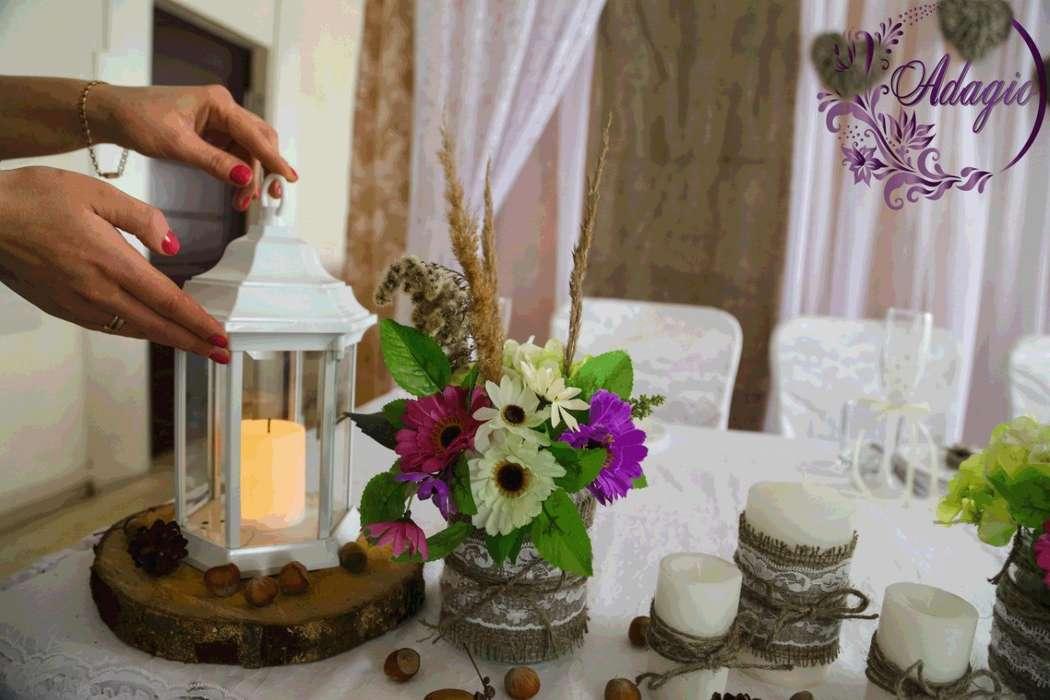 """Фото 4916563 в коллекции Свадьба в стиле rustic - """"Adagio"""" - свадебный декор"""