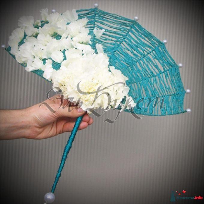 букет невесты веер своими руками