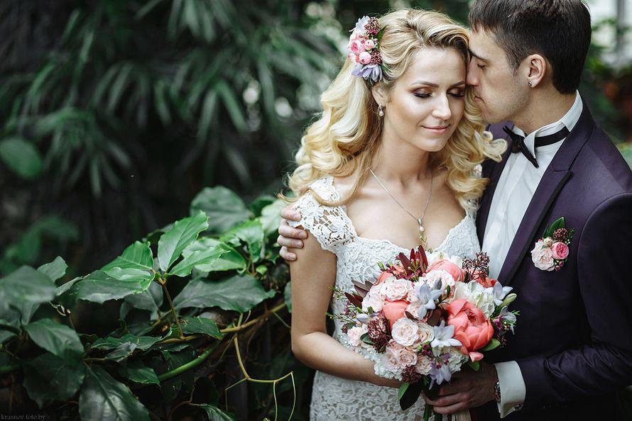 Фотосъёмка от сборов невесты и до первого танца