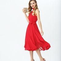Модель EMSE 0276 Коктейльное платье А-силуэта длиной ниже линии колена с открытой линией плеч и воротником-стойкой. В среднем шве спинки- потайная молния. На подкладке. Основная ткань: шифон, подкладка. Цвет: красный, синий. Размерный ряд: 42, 44,46, 48.