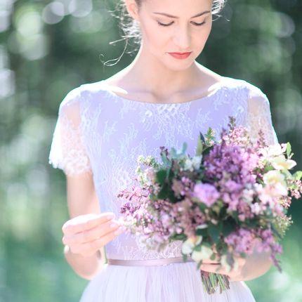 """Свадебное платье """"Весенний цветок"""""""