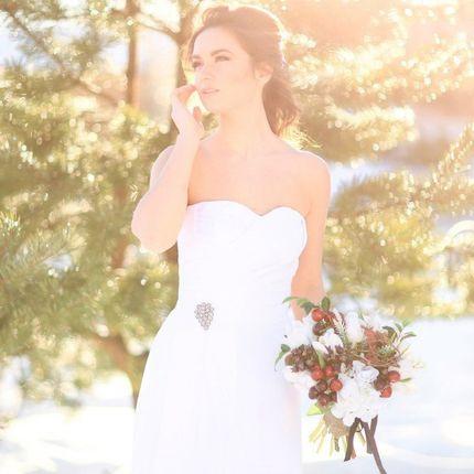 """Свадебное платье """"Секрет лавин"""""""