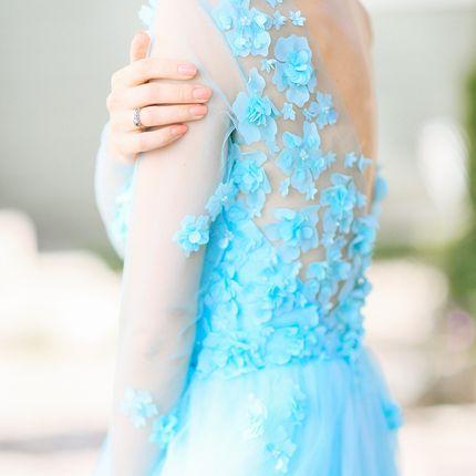 Платье Изумрудный сад