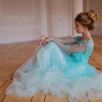 """Свадебное платье """"Изумрудный сад"""""""
