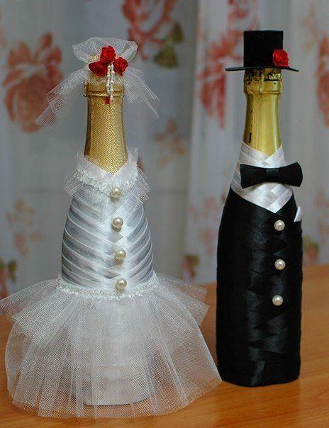 Фото шампанское на свадьбу своими руками