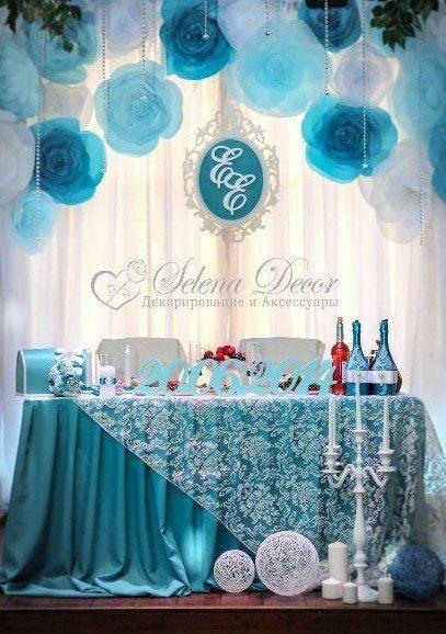 Оформляем зал к свадьбе своими руками