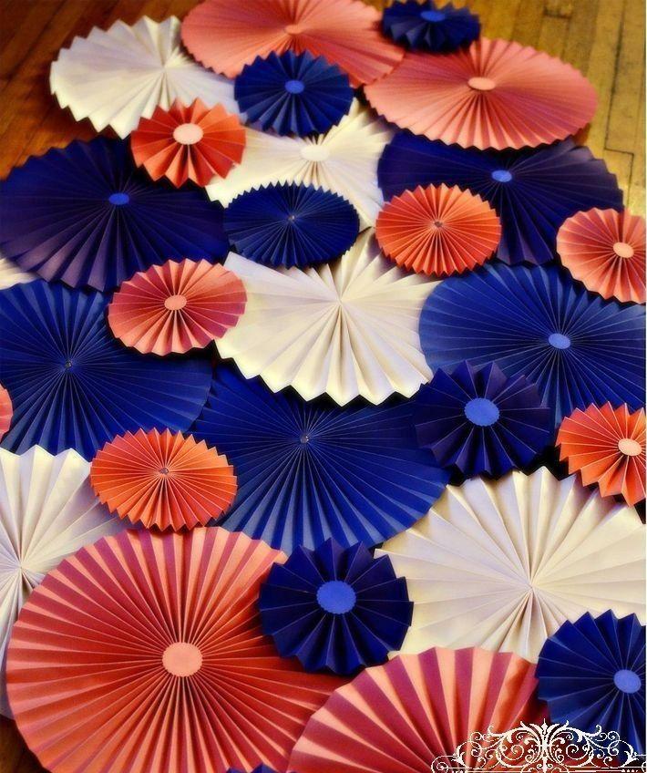 Украшения из цветов из бумаги своими руками