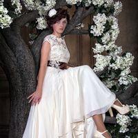 Свадебное платье ручной работы. Инд пошив.