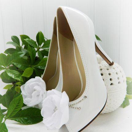 Свадебные туфли с пионами