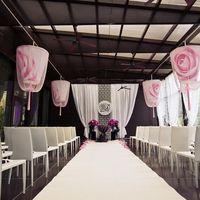 Черно-розовый цвет, черно-розовая свадьба