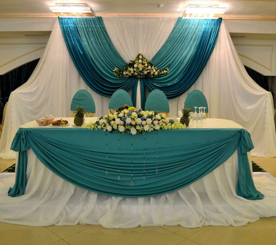 Оформление места молодоженов! - фото 7694118 Vesta Deluxe - оформление свадеб
