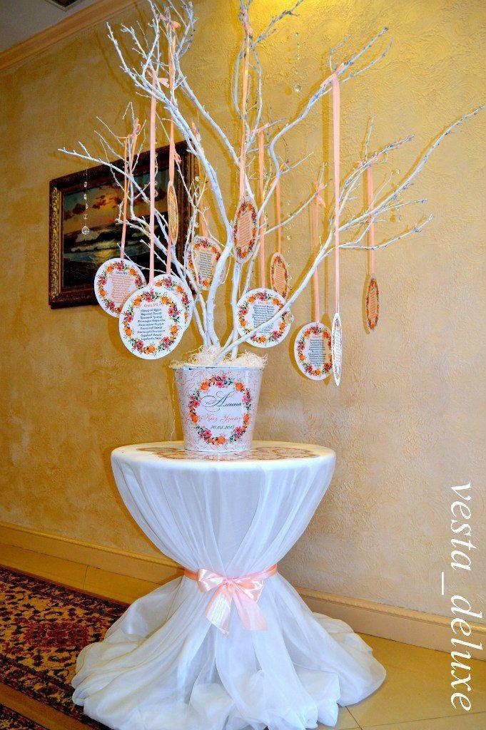 Рассадка гостей. - фото 7694462 Vesta Deluxe - оформление свадеб