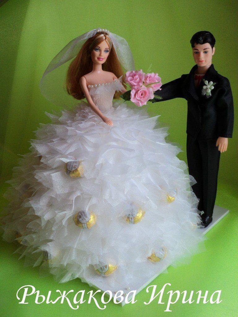 Фото 5168281 в коллекции Свадебные композиции из конфет - Свит дизайн Рыжакова Ирина