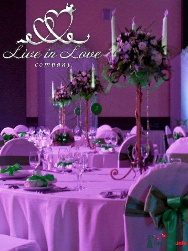 Фото 348813 в коллекции ОФОРМЛЕНИЕ ЗАЛОВ - Live in LOVE company - оформление свадеб