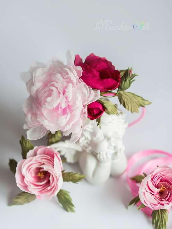 Фото 5179713 в коллекции Цветы из шёлка ручной работы - Студия шёлковой флористики Rainbow silk