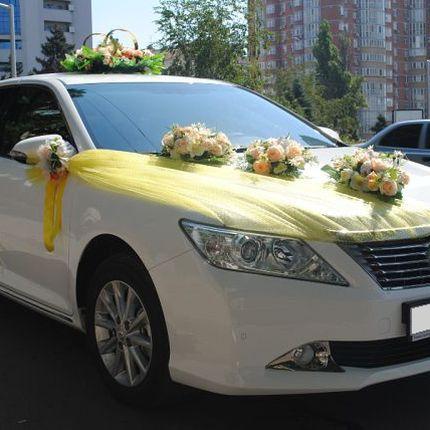 Свадебное авто Toyota Camry 2012