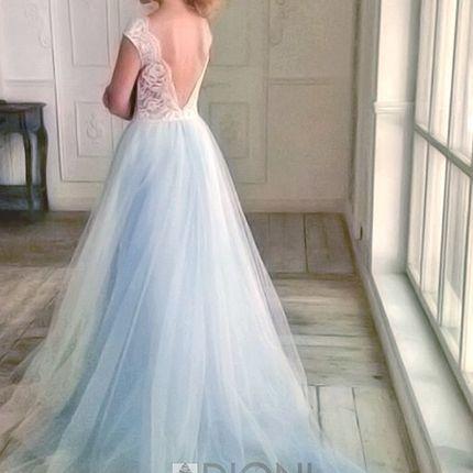 Свадебное платье Шанти-блю (TF)