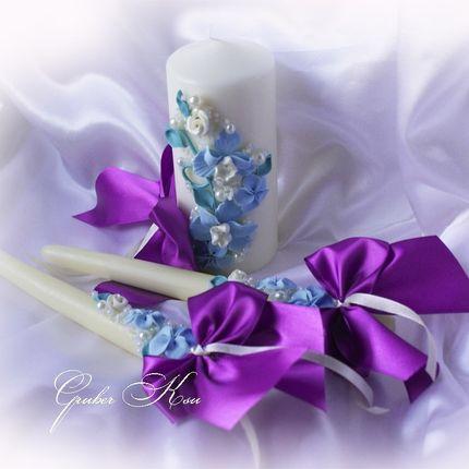 """Домашний очаг ручной работы """"Голубые орхидеи"""""""