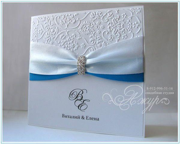 """Фото 5256693 в коллекции Свадебные приглашения - """"Ажур декор"""" - студия красивых свадеб"""