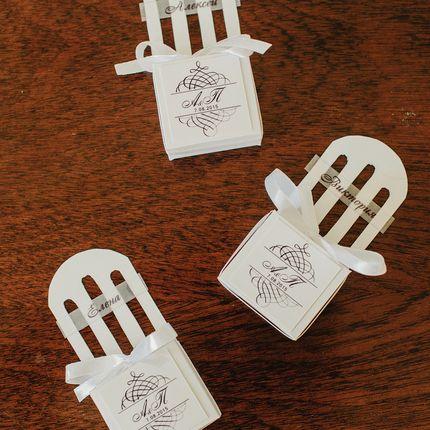 Бонбоньерки-стульчики