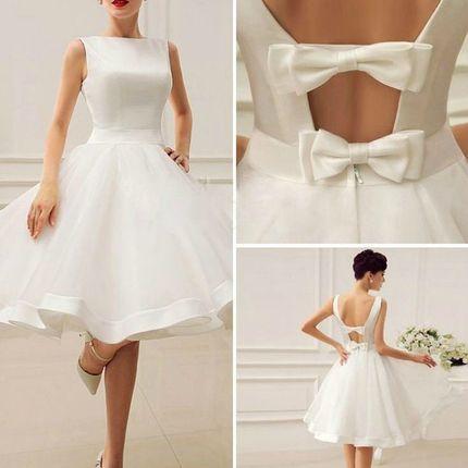 """Свадебное платье """"аля-60-е"""""""