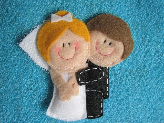Фото 5294589 в коллекции Фетровая свадьба - Handmade by Tashaflex - аксессуары