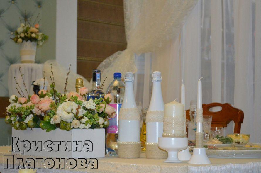 Фото 5300771 в коллекции оформление свадьбы в ресторане метрополь 25.04.2015г - Флорист Кристина Платонова