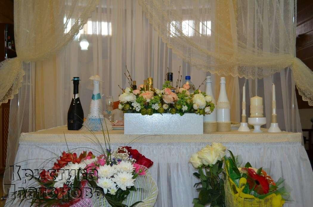 Фото 5300775 в коллекции оформление свадьбы в ресторане метрополь 25.04.2015г - Флорист Кристина Платонова