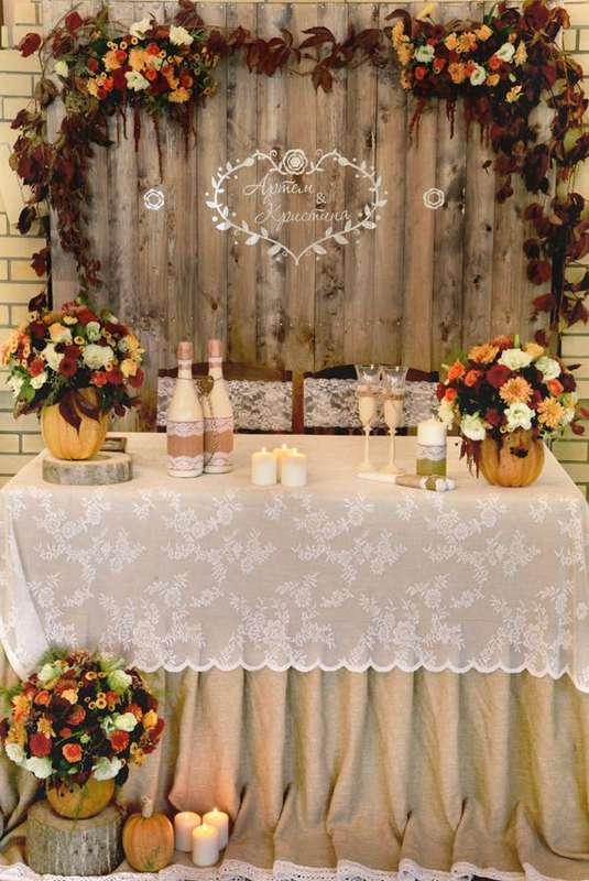 """Фото 14208804 в коллекции Свадебное оформление по индивидуальному дизайну - """"Мастерская счастья"""" - оформление праздника"""