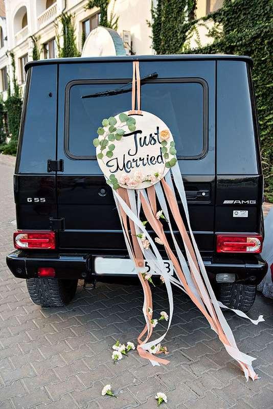 """Фото 14208850 в коллекции Оформление свадебного кортежа - """"Мастерская счастья"""" - оформление праздника"""