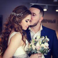 невеста Елена фотограф Ольга Ниа образ невесты и украшение в прическу ручной работы Альбина Апасова