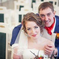 невеста Леночка! фотограф Александр Пипко  Образ невесты (прическа, макияж) - я  Украшение в прическу ручной работы -я