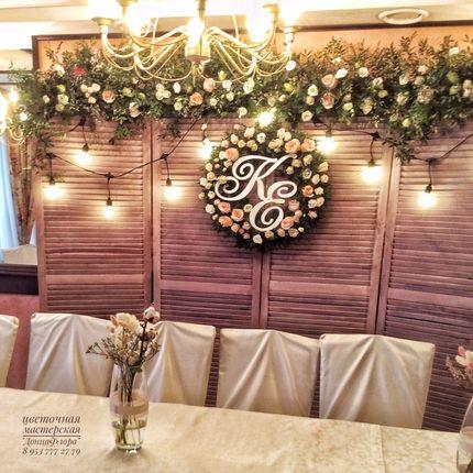 Оформление банкетного зала для камерной свадьбы