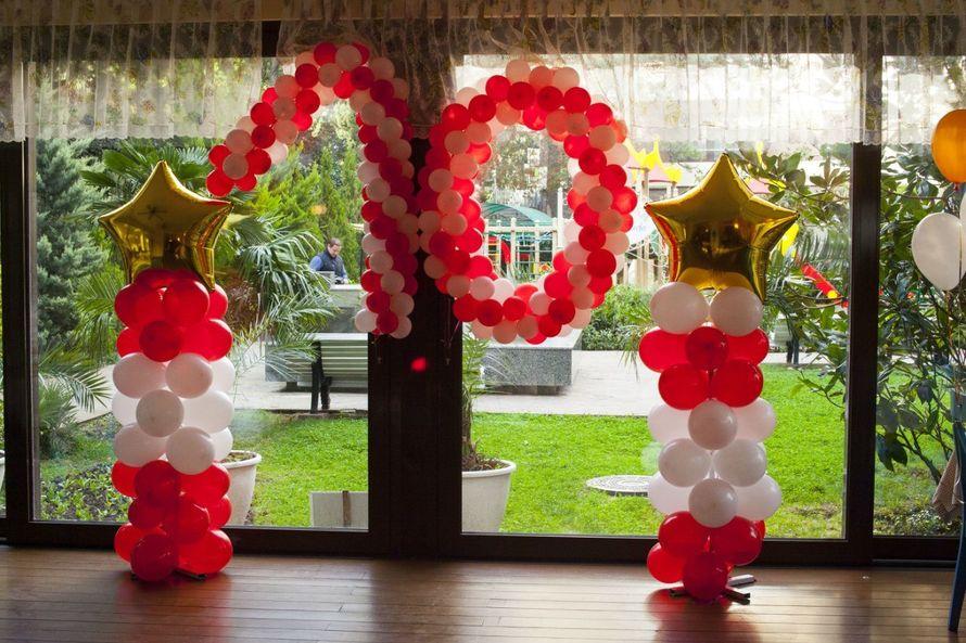 Цифры из шаров/цветов  Стойки из шаров - фото 5376945 Агентство SV-Show