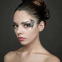 макияж, причёска - Мария Максимова модель - Даша Гиндосова фотограф - Антон Никитин