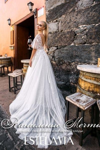 2bd9bf00229b043 Свадебное платье Estelavia коллекции Lovely Princess модель Зара вид ...