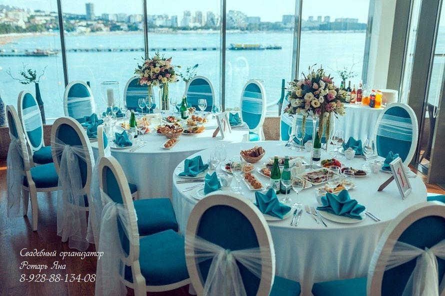 Цветочные композиции на столы гостей