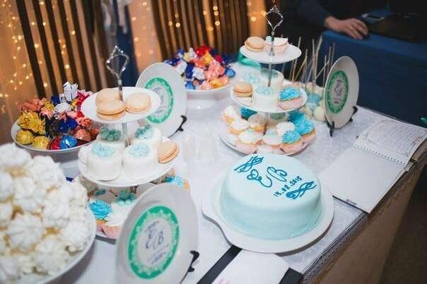Фото 5477063 в коллекции Candy bar (сладкий стол) - COUTURE - Candy Bar, коробочки с цветами, торты