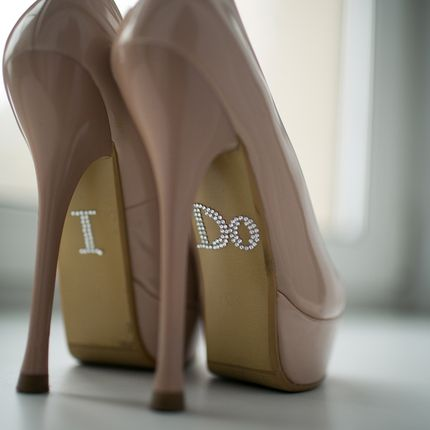 Наклейки на туфли I do